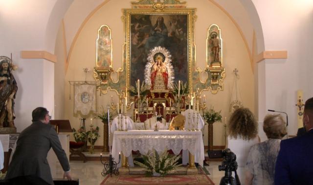 Villablanca vivió la fiesta de su patrona con la Función Principal