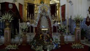 Isla Cristina ofrenda sus nardos a la Virgen del Rosario