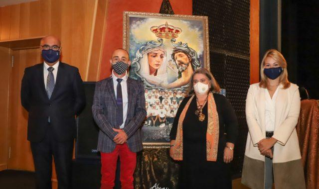 La Hermandad de los Dolores presentó el cartel de su cincuentenario y el himno a la Virgen