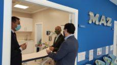 El alcalde de Lepe visita el nuevo centro asistencial de MAZ en la localidad