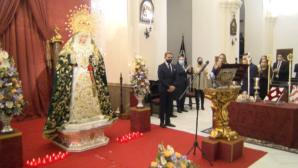 Jesús Cortés exaltó en Lepe a la Virgen de la Esperanza