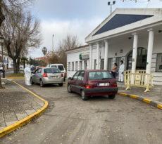 El dispositivo 'Auto Covid' comienza a funcionar en Cartaya