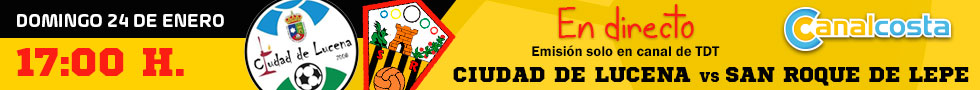 Partido Ciudad de Lucena - San Roque 24-01-2021