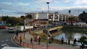 Recuperación Coche Estanque Ayamonte