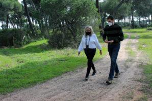 El Ayuntamiento de Cartaya pone en marcha una red de senderos por el pinar