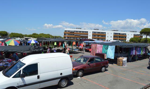 El Mercadillo de Punta Umbría vuelve a celebrarse