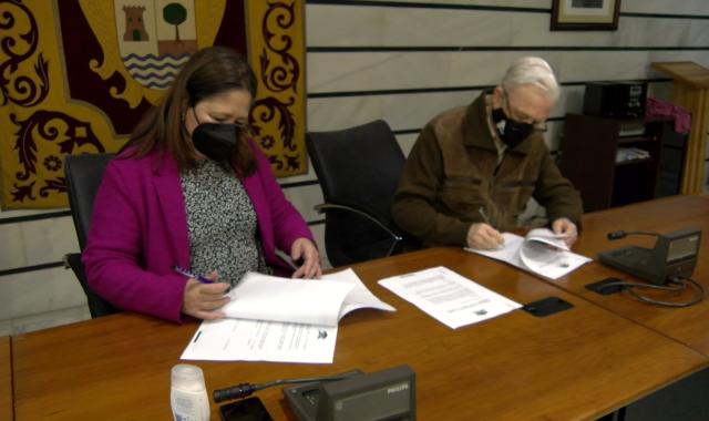 El Ayuntamiento de Punta Umbría firma un convenio con la Fundación Tutelar TAU