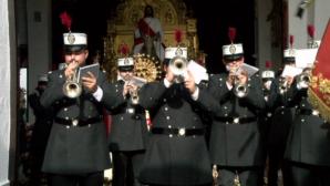 El Domingo de Ramos devolvió a la emoción al Barrio Don Ramiro de Lepe