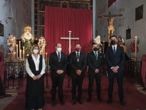 La Hermandad de la Lanzada protagonizó el Martes Santo ayamontino