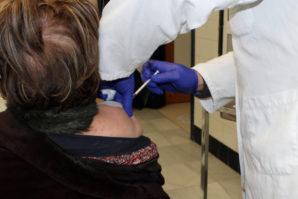 El Centro de Salud de Cartaya acelera el ritmo de vacunación