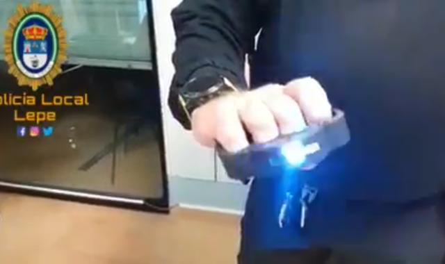 La Policía Local de Lepe incauta un arma prohibida