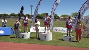 Punta Umbría acogió el Campeonato de Andalucía de Atletismo Adaptado