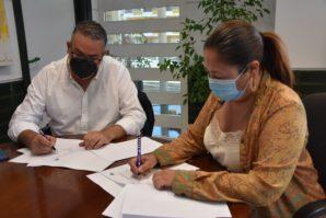 Punta Umbría y la FAB firman un convenio para la celebración de tres campeonatos