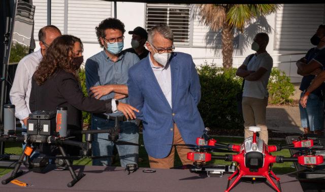Una jornada forma a policía locales y responsables de seguridad en el uso de drones