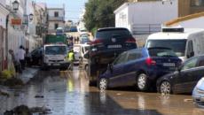 Las zonas más bajas de Lepe fueron las más afectadas por el temporal